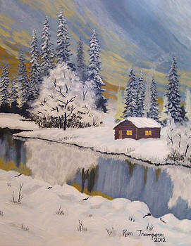 Snow River by Ron Thompson