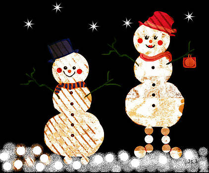 Snowmen and Snowballs by Jan Steadman-Jackson
