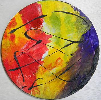 Soleil by Gilberte Figaroli