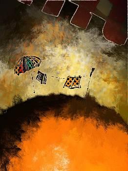 Sombrilla playera - Beach umbrella by Marcelo Itkin