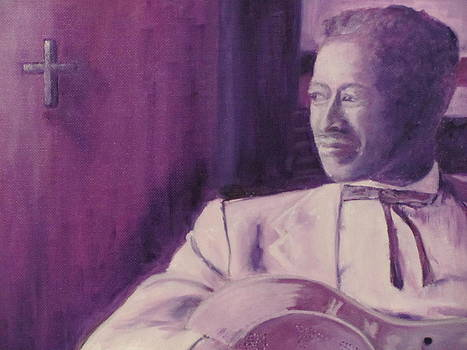 Son House Purple Hues by Sheila Gunter