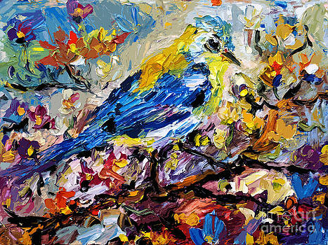 Ginette Callaway - Songbird Blue In A Tree
