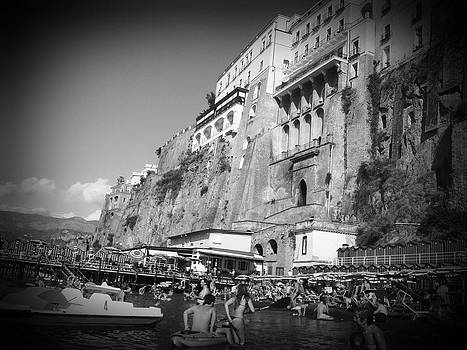 Sorrento Black and White by Gina Clayton-Tarvin