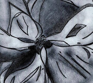 Southern Magnolia detail by Elizabeth Briggs