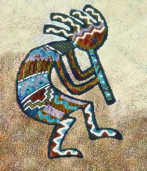 Southwestern Style Kokopelli  by Susan Leggett