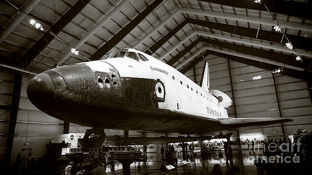 Space shuttle Endeavour by Nina Prommer