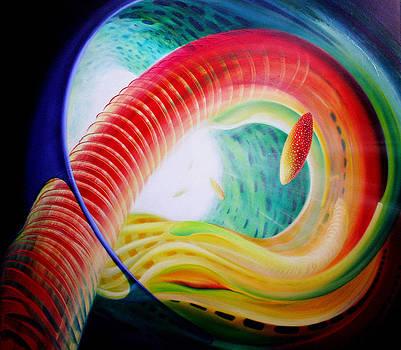 Sphere Serpula 2 by Drazen Pavlovic
