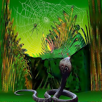 Spiders and Snakes by Rod Saavedra-Ferrere