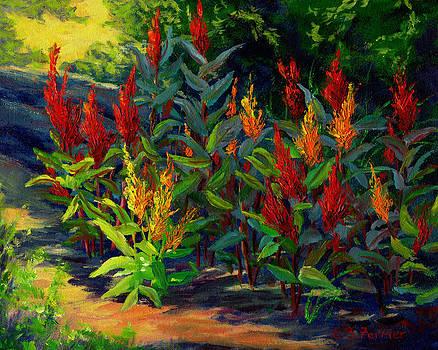 Spike Flowers by Elaine Farmer