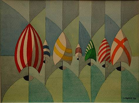 Spinnakers by Lester Glass