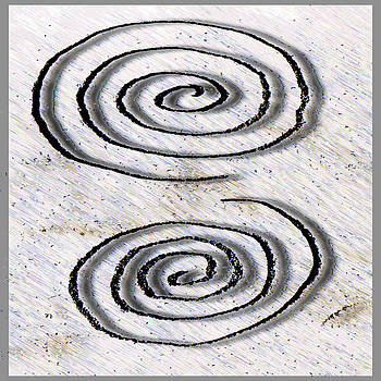Spirals Logo by Lawrence Kaster
