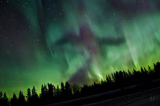 Spirits of the Northern Nights by Steve  Milner