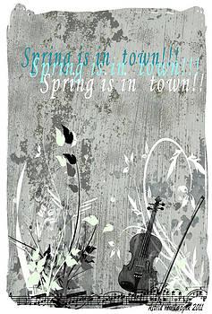 Spring is in town by Astrid Van Loopik