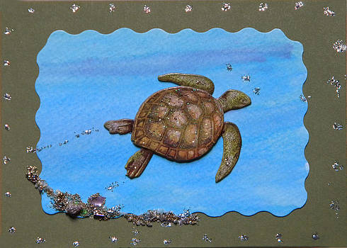 Spring Turtle by Gracies Creations