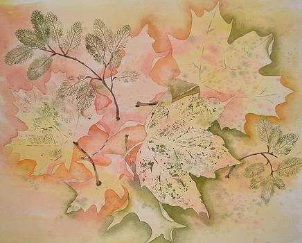 Sprinkling of Leaves by Carol Bruno