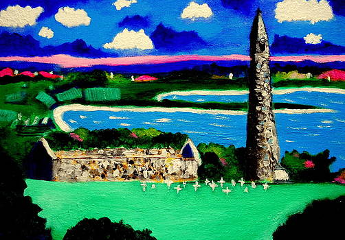 St Declans Church Ireland by Ted Hebbler
