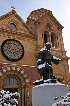 Elizabeth Rose - St Francis Cathedral in Santa Fe - Winter