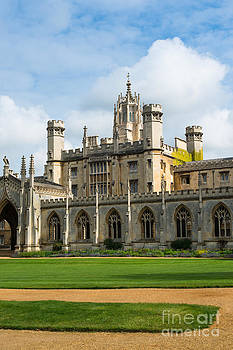 St Johns College Cambridge University by Andrew  Michael