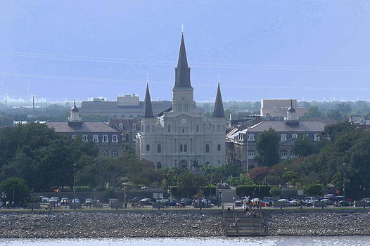St. Louis Cathedral 2 by Diane Ferguson
