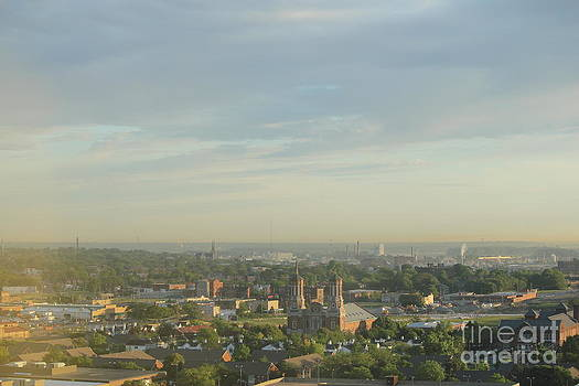 St. Louis in the Morning by Theresa Willingham