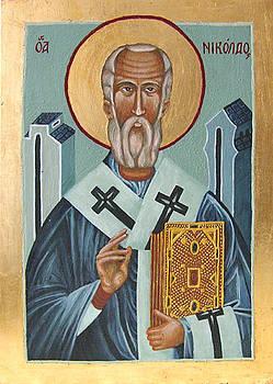 St. Nicolas  by Karolina Wicha