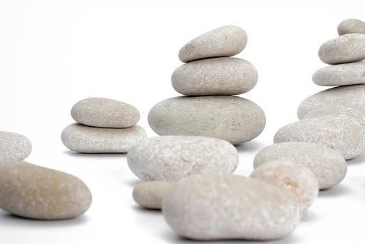 Sami Sarkis - Stacks of smooth pebble stones