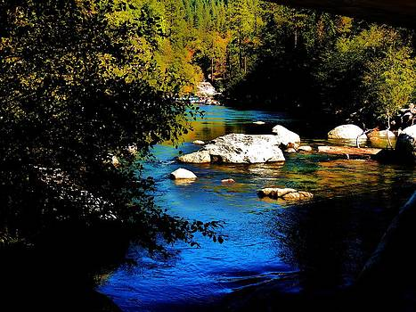 Stanislaus River by Helen Carson