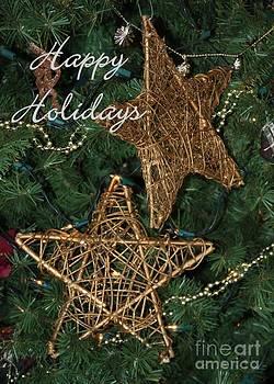 Sabrina L Ryan - Star Holiday Card