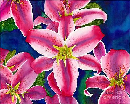 Stargazer Lillies by Laura Ramsey