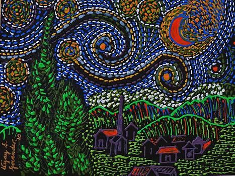 Starry Starry Night by Vijay Sharon Govender
