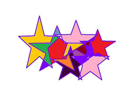 Stars by Diana  Lesher