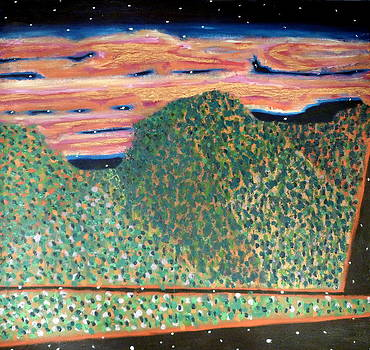 Stars In The Mountain  by JC Armbruster