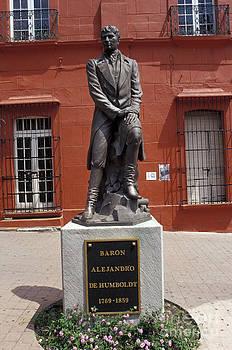 John  Mitchell - STATUE OF ALEXANDER VON HUMBOLDT Cuernavaca Mexico