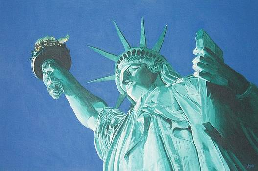 Statue Of Liberty by Alan Wilkinson