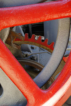 Mick Anderson - Steam Tractor Gear Detail