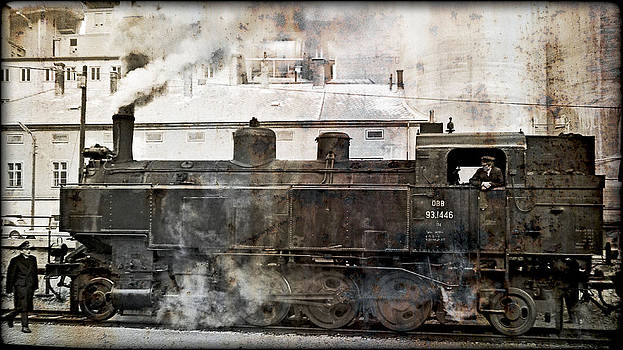 Steamlocomotive 93.1446 Pic.2 by Leopold Brix