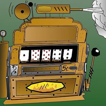 Steampunk Slot Machine by Casino Artist