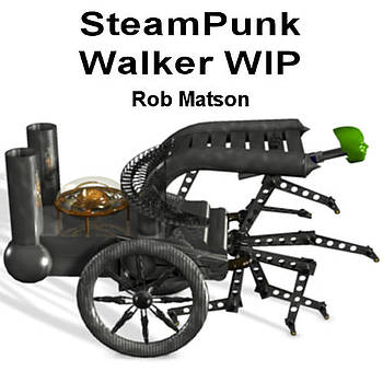 Robert Matson - SteamPunk Walker WIP2