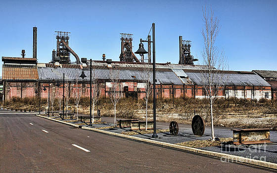 Chuck Kuhn - Steel Works I