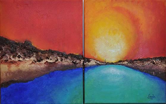 Stilbaai Sunset by Linda Ferreira