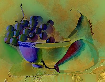 Kate Farrant - Still Life - Grapes N Pears