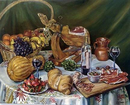 Still Life Bodegon by Dariusz Czarny Lopez