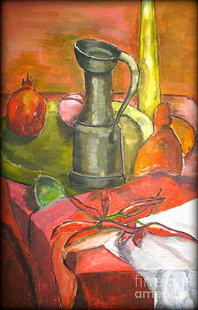 Still Life with Pomegranate by Tatjana Andre
