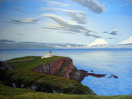 Stoer Head Lighthouse by Rick Gallant