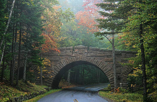 Stone Bridge by Mary Hershberger