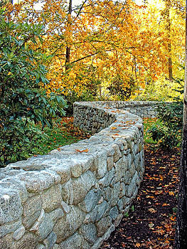 Stone Fall Wall by Wendy McKennon