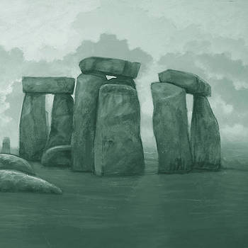Stonehenge Right by Marte Thompson