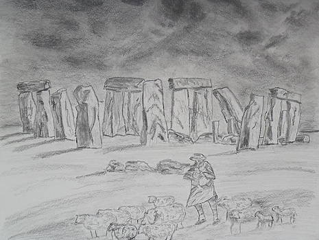 Stonehenge study by Brian Hustead