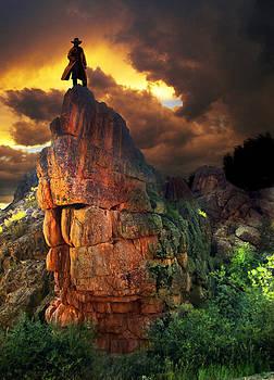 Storm on Buckhorn Mountain by Ric Soulen
