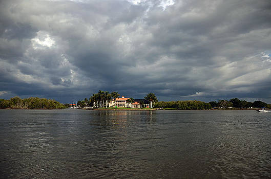 Storm on the Gordon River by Ken  Collette